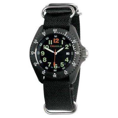 TRUGLO SWITCHBACK 3-HAND TRITIUM WATCH