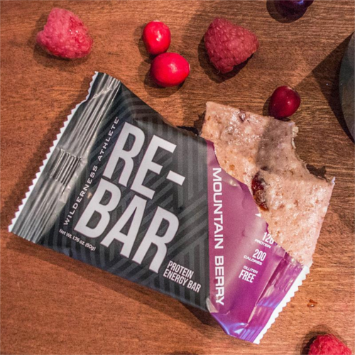WILDERNESS ATHLETE RE-BAR PROTEIN ENERGY BAR 12 PACK main photo.