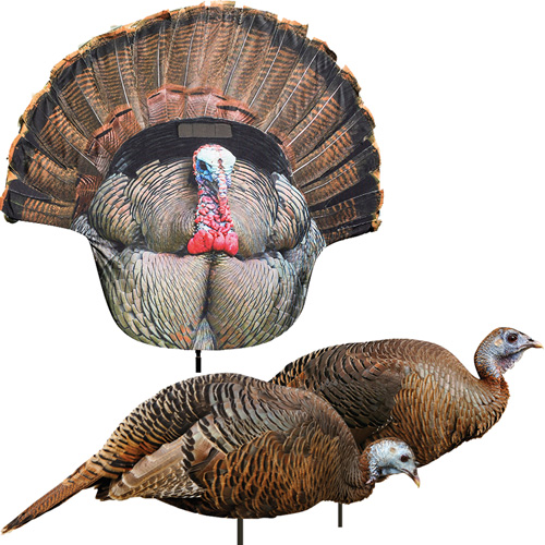 MONTANA DECOY 2D HEN & TOM 3 PACK TURKEY DECOY COMBO main photo.
