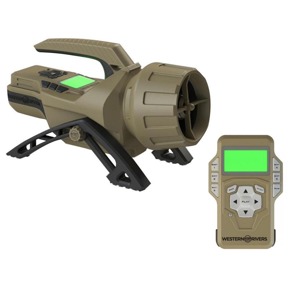 WESTERN RIVER MANTIS PRO 400 W/ BLUETOOTH ELECTRONIC GAME CALL main photo.