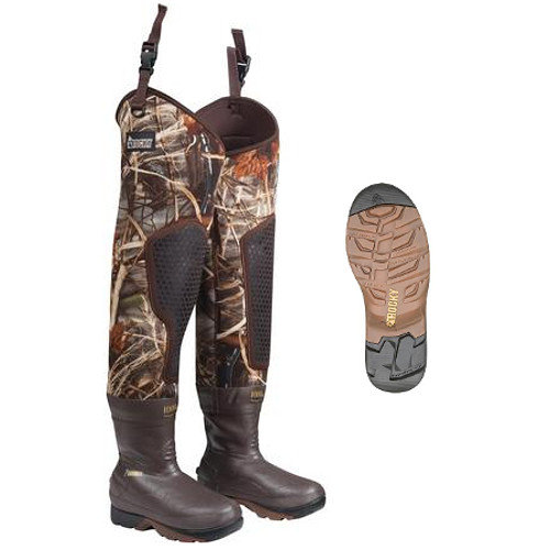 ROCKY WATERFOWLER MUDSOX INSULATED HIP BOOT
