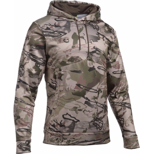 UNDER ARMOUR MENS ICON CAMO HOODIE