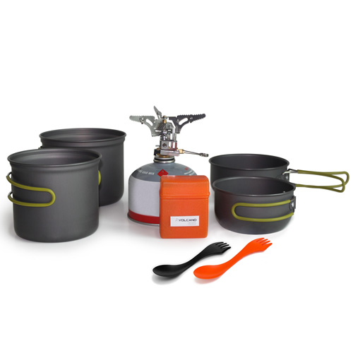 VOLCANO LITE BACKPACKING STOVE AND POT COOK SET
