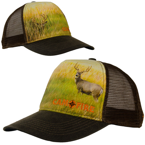 CAMOFIRE SUBLIMATED TRUCKER HAT