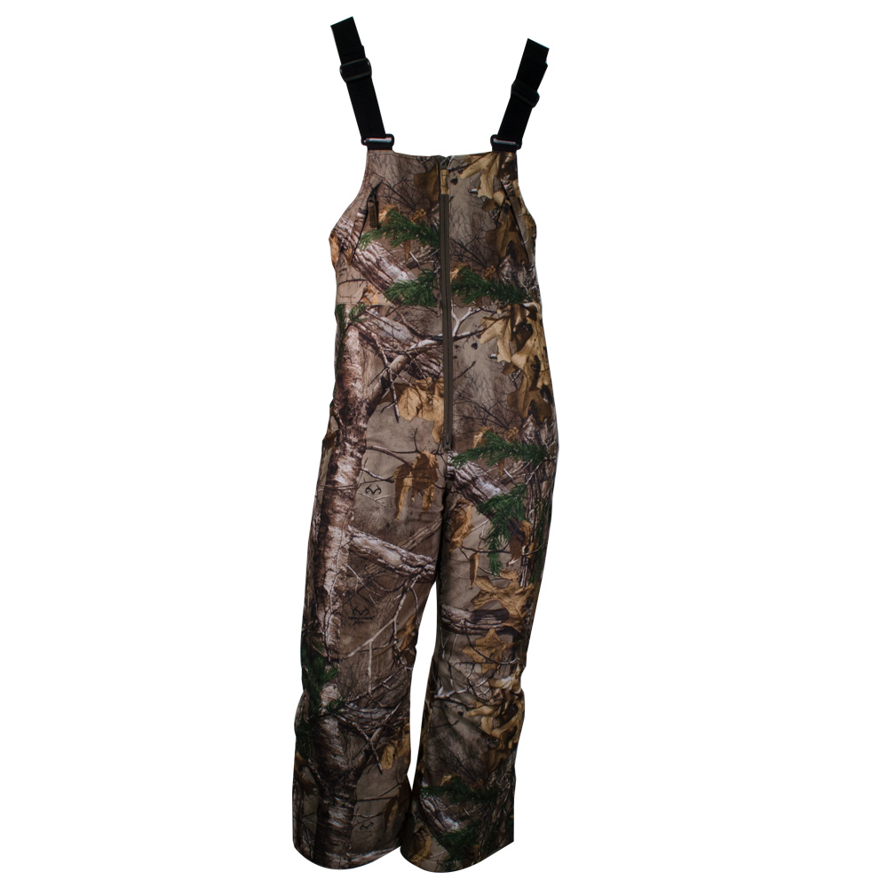 CAMOFIRE YOUTH WATER RESISTANT INSULATED BIBS main photo.