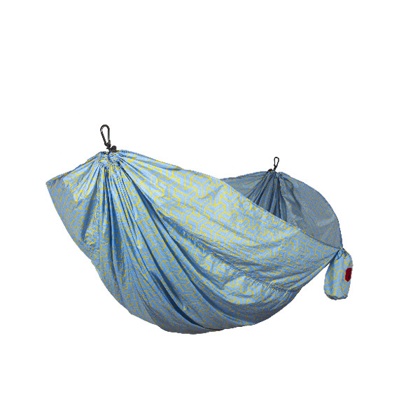 GRAND TRUNK DOUBLE PARACHUTE PRINTED NYLON HAMMOCK main photo.