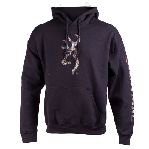 BROWNING 2 HIT CAMO SCREENED PULLOVER HOODIE